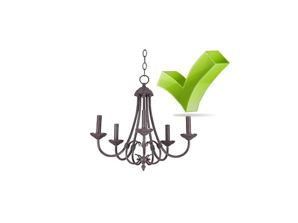 chandelier okay