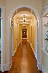 Old World European Hallway