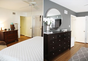 Master Bedroom Before and After Long Distance Interior Design Online 2