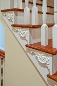 Old World European Stair Detail