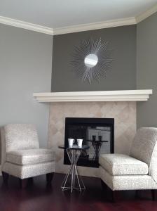 Fireplace Square Tile