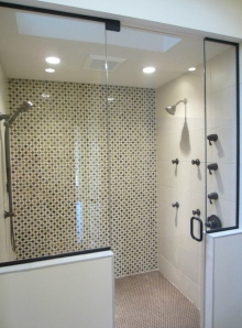 Shower Mosaic