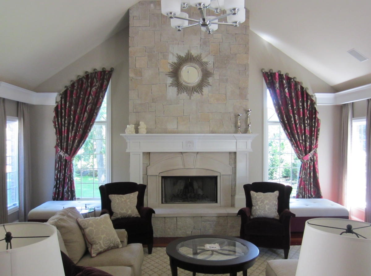 Design Tips Coordinating Fabric In Living Spaces