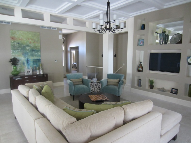 Design tips coordinating fabric in living spaces stylish living with rci for Color coordination for living room