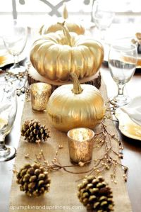 pumpkin centerpiece 2