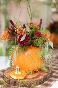 pumpkin centerpiece 3